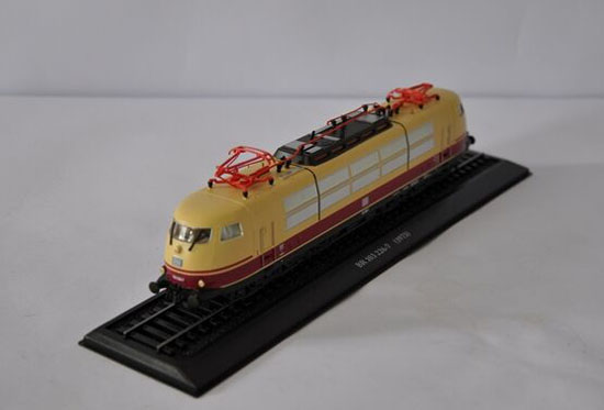 Yellow 1:87 Scale Atlas BR 103 226-7 1973 Train Model