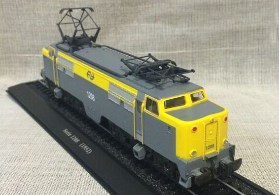 1:87 Scale Yellow-Gray Atlas Serie 1208 1952 Train Model