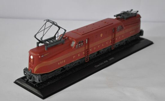 Atlas 1:87 Scale Brown Class GG1 4910 1941 Train Model