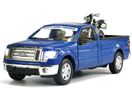1:32 Kids White / Red / Blue Die-Cast Ford F150 Pickup Truck Toy