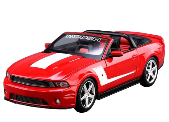 MaiSto Red 1:18 Scale 2010 Ford Mustang ROUSH 427R Model