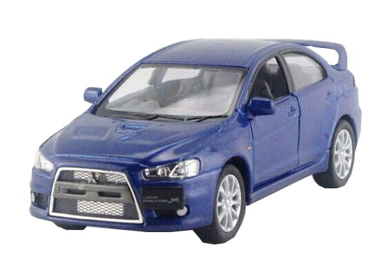 Red / White/ Yellow / Blue Diecast Mitsubishi Lancer Evolution X
