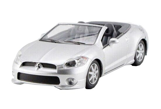 Kids Black /Silver Pull-Back Function Die-Cast Mitsubishi SPYDER
