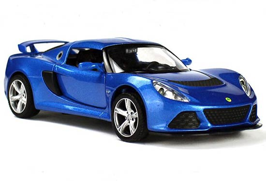 Kids 1:32 Red / Blue / Orange / Gray Diecast Lotus EXIGE S Toy