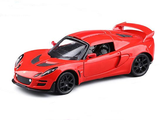 Red / Yellow / Black / White Kids 1:32 Diecast Lotus EXIGE SCURA
