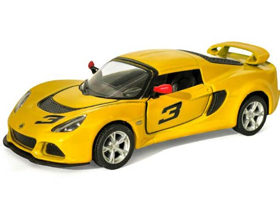 1:36 Kids Red / Yellow / Black / White Diecast Lotus Exige S Toy