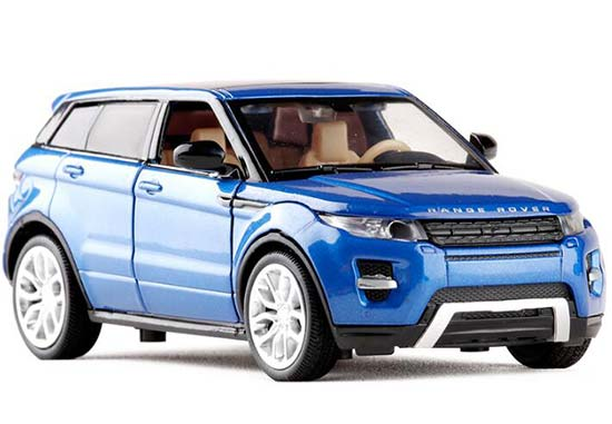 White / Red / Blue / Green 1:32 Die-Cast Range Rover Evoque Toy