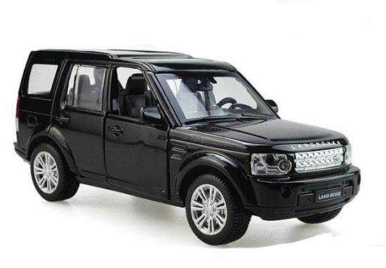 White / Black / Silver Kids Diecast Land Rover Discovery Toy
