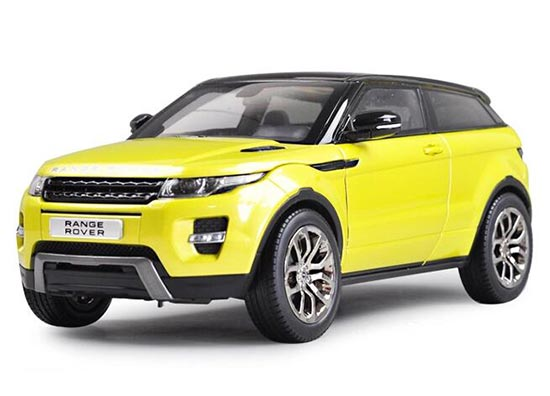 Red / White / Orange / Yellow 1:18 Diecast Range Rover Evoque