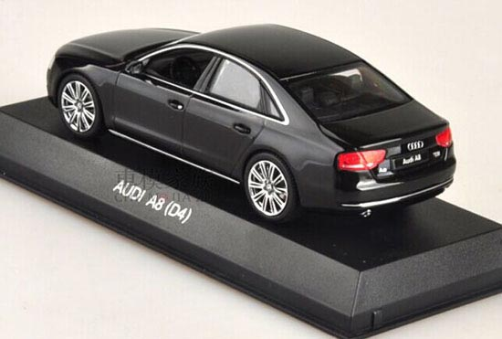 Awesome Black 1:43 Scale KYOSHO Diecast Audi A8 D4 Model Good Ideas