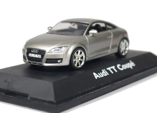 Silver / Blue 1:43 Scale SCHUCO Diecast Audi TT Coupe Model