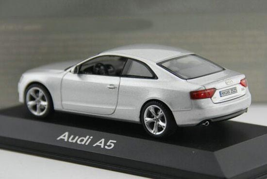 silver 1 43 scale schuco diecast audi a5 model nb9t199. Black Bedroom Furniture Sets. Home Design Ideas