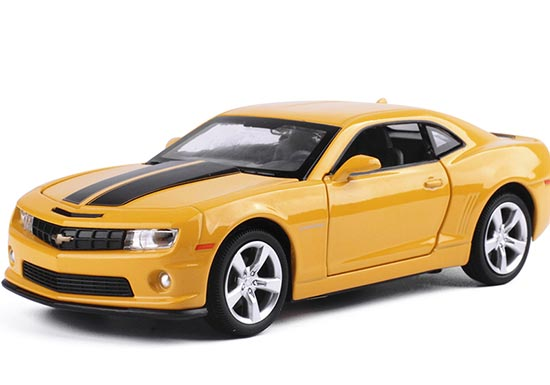 Yellow /Red /Black 1:32 Scale Kids Diecast Chevrolet Camaro Toy