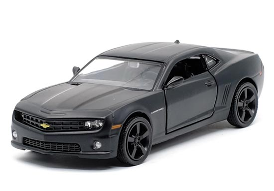 Pull-Back Function 1:36 Scale Black Diecast Chevrolet Camaro Toy