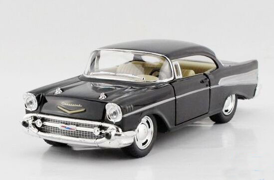 Black / Red / Yellow / Blue Kids Diecast 1957 Chevrolet Car Toy