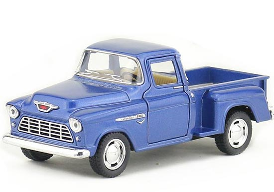 White / Red / Orange / Blue Kids Diecast Chevrolet Pickup Truck