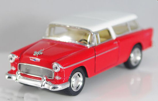 Red / Wine Red / Green / Blue 1:36 Diecast Chevrolet Nomad Toy