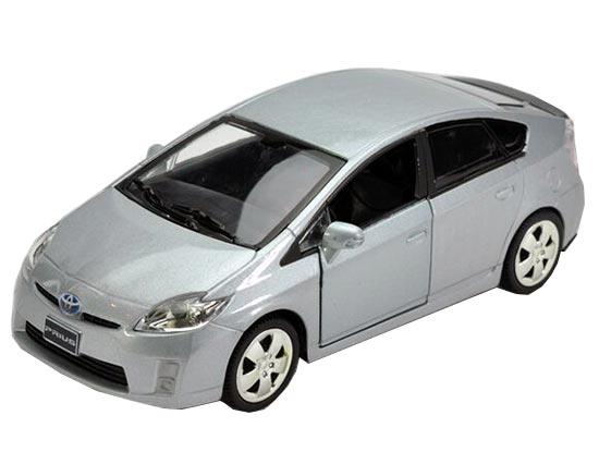 White / Black / Silver / Red 1:32 Kids Diecast Toyota Prius Toy