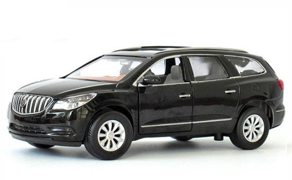 White / Black /Purple Kids 1:32 Scale Diecast Buick Enclave Toy
