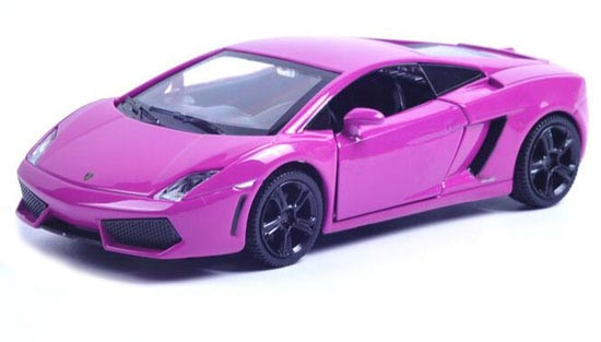 Purple / Blue / Green / Yellow Kid Diecast Lamborghini Gallardo