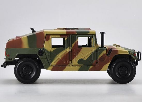 Army Green 1:18 Scale Maisto Diecast Hummer H1 Model
