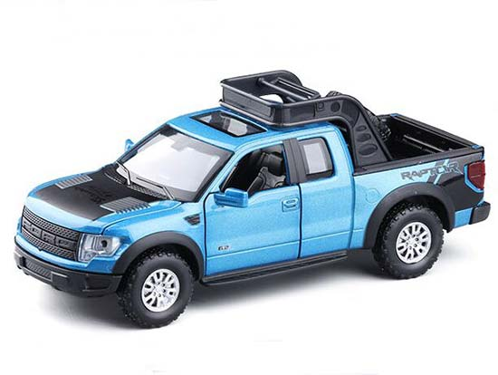 1:32 Red / Blue / White / Yellow Die-Cast Ford F150 Pickup Toy