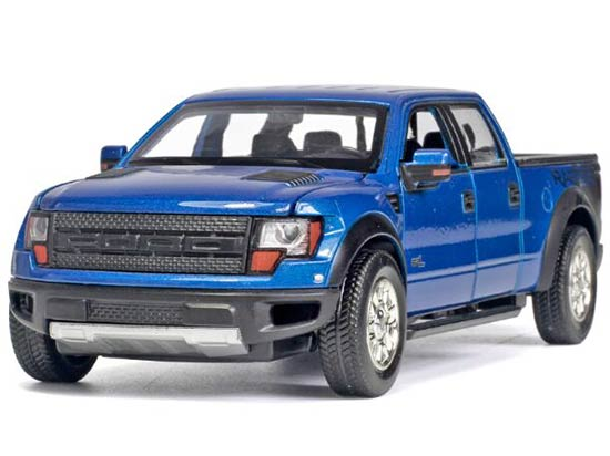 Red / Blue / White 1:32 Scale Die-Cast Ford F150 Pickup Toy