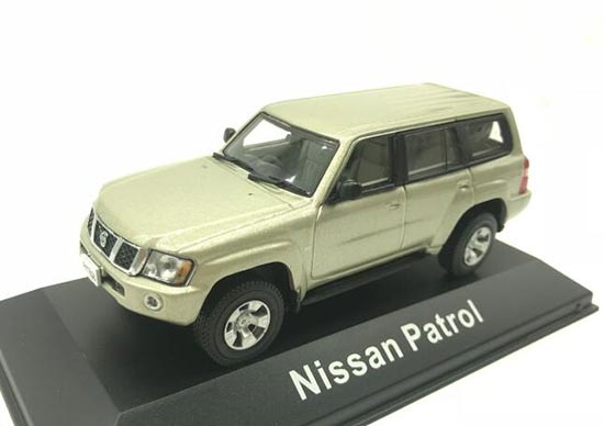 1:43 Scale J-COLLECTION Champagne Diecast Nissan Patrol