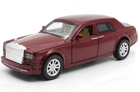1:32 Red / Blue / Green Kid Die-Cast Rolls-Royce New Phantom Toy