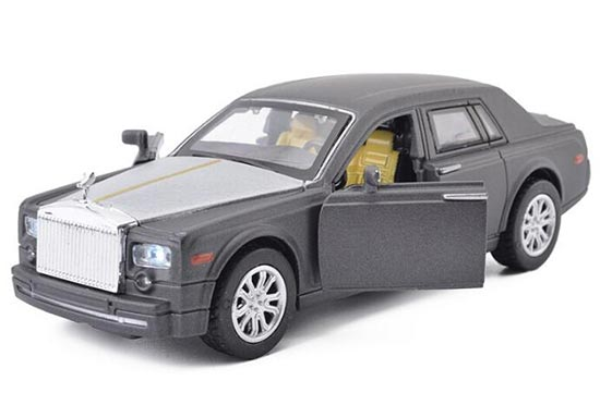 1:32 Scale Kids Red / Blue Die-Cast Rolls-Royce Phantom Toy