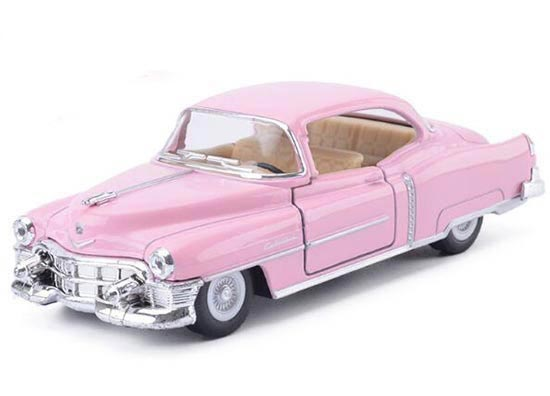 Kid White / Black / Red /Pink Die-Cast 1953 Cadillac Vintage Car