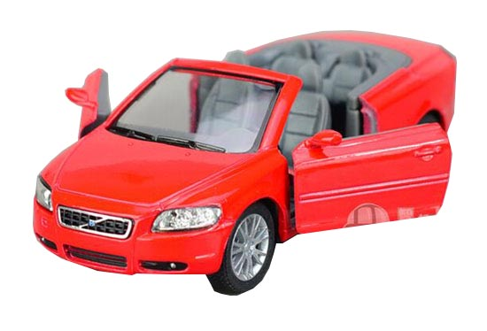 Silver / Red / Blue / Champagne 1:36 Die-Cast Volvo C70 Toy
