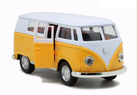 1:32 Red / Yellow / Blue / Wine Red Kids Die-Cast VW Bus Toy