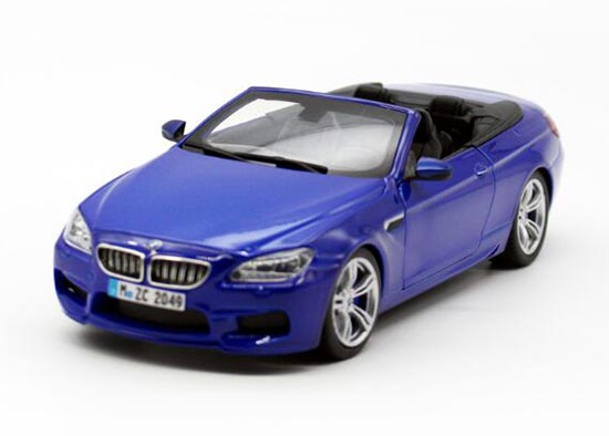 White / Red / Blue / Silver 1:24 Scale Diecast BMW M6 Model