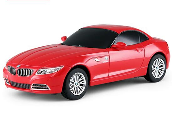 Kids 1:24 Scale Black / Red Full Functions R/C BMW Z4 Toy