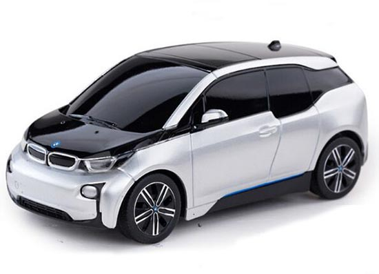 1:24 Scale Kids Full Functions Red / Silver R/C BMW I3 Toy