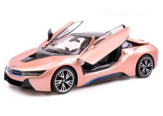 White Silver Kids 1 14 Scale Full Functions R C Bmw I8 Toy