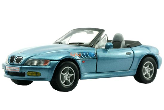 Kids Red / Silver / Blue Diecast BMW Z3 Roadster Toy