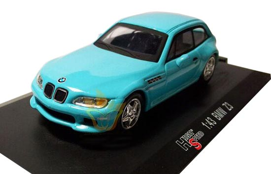 Red / Blue 1:43 Scale HIGH SPEED Die-Cast BMW Z3 Model