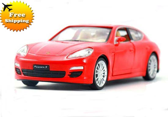 Kid 1:32 Black /Blue /Red /Golden Diecast Porsche Panamera S Toy
