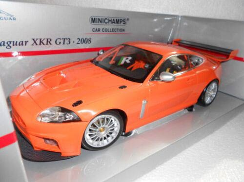 JAGUAR XKR gt3 2008 Orange 1:18 Minichamps