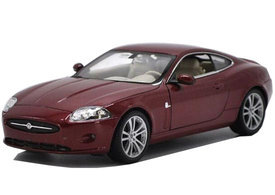 Jaguar xk coupe red - photo#25