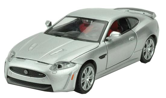White / Red / Blue / Silver 1:32 Kids Diecast Jaguar XKR-S Toy