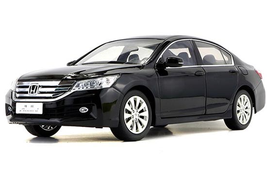 Silver / Black / White 1:18 Scale Diecast Honda ACCORD Model