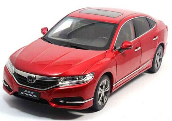 Red / White / Black 1:18 Scale Diecast 2015 Honda SPIRIOR Model