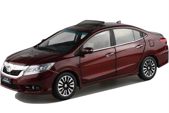Wine Red / White 1:18 Scale Diecast Honda CRIDER Model