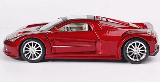 Red 1 24 Maisto 2005 Chrysler Me Four Twelve Concept Model
