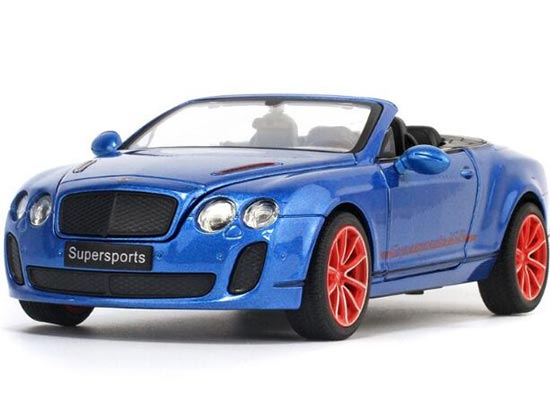 Black / White / Blue 1:24 Scale Bentley Continental ISR Model