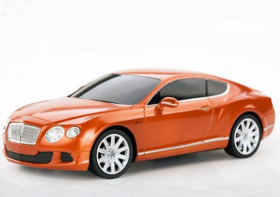 Black /White /Orange 1:24 Full Function R/C Bentley Continental
