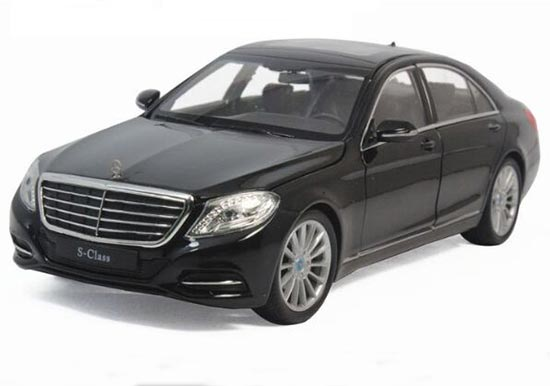 1:24 Black / White Welly Die-Cast Mercedes-Benz S-Class Model